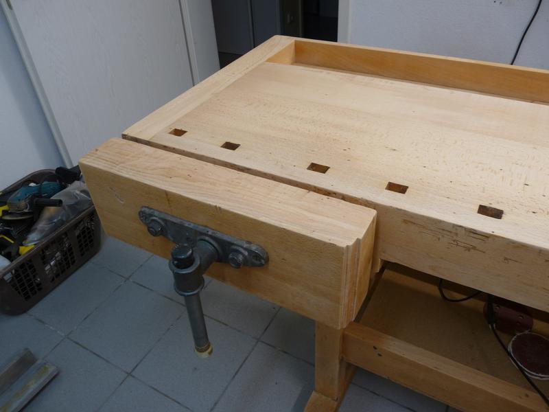 alte hobelbank aufarbeiten. Black Bedroom Furniture Sets. Home Design Ideas