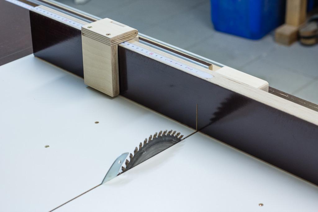 oft Schiebeschlitten für die Tischkreissäge QX65